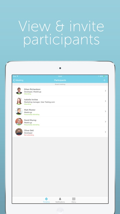 Meetin.gs – Schedule & organize business meetings and appointments with Lync, Skype, Hangouts and teleconferences