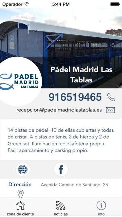 Pádel Madrid Las Tablas