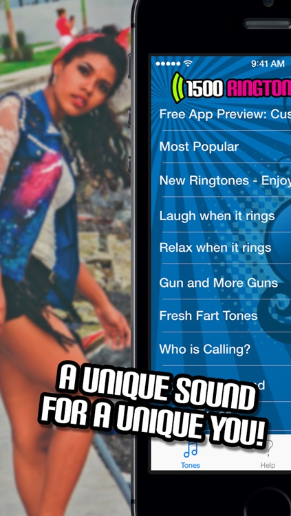 1500 Free Ringtones! - Music, Sound Effects, Funny alerts and caller ID tones screenshot-4