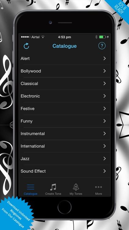 Ringtones - Download Free Ringtone Maker And Create Your Tones