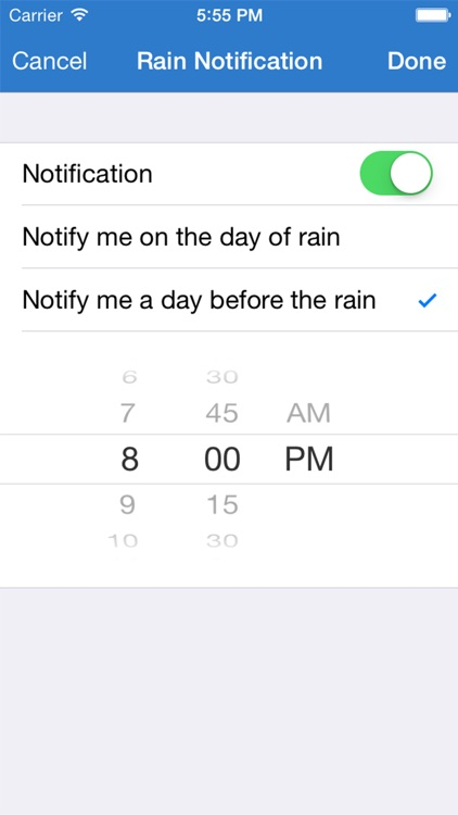 Will it Rain? - Rain condition and weather forecast alerts and notification screenshot-4