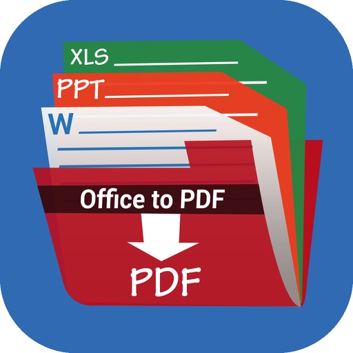 Office to PDF Free - Quick convert Word, Excel, PPT to PDF file iOS App