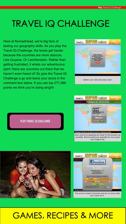 NomadHead - The Ultimate Travel Guide For Planning Your Amazing Gap Year Adventure Around The World screenshot-4