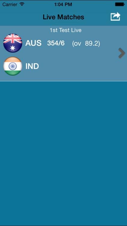Cricket Score Live screenshot-4