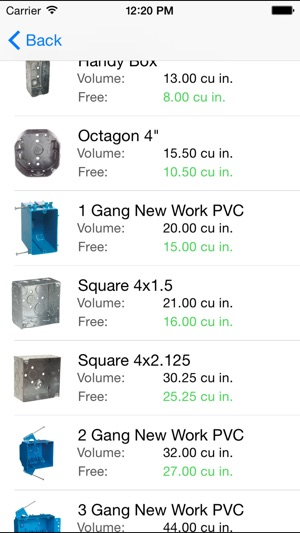 Pleasant Electrical Box Fill Calculator On The App Store Wiring Cloud Favobieswglorg