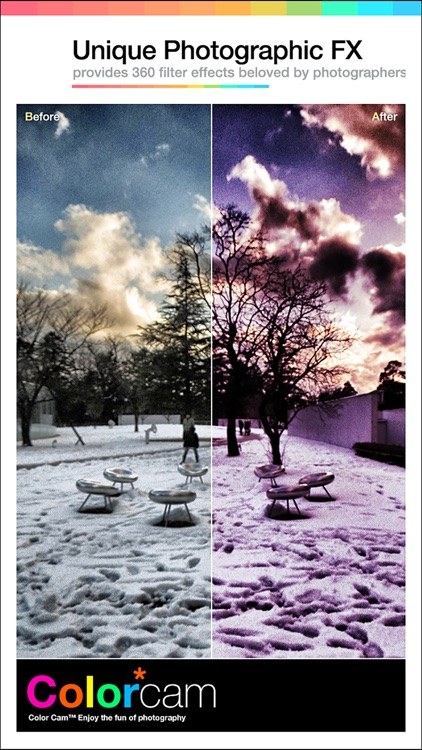 Color Cam 360 - Best Photo Editor and Stylish Camera Filters Effects screenshot-3