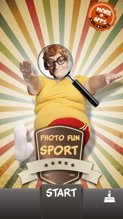 Photo Fun Sports Legends Screenshot on iOS
