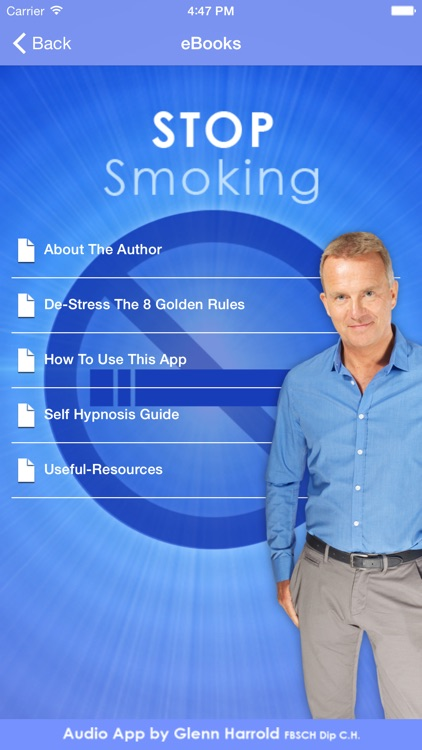 Stop Smoking Forever - Hypnosis by Glenn Harrold screenshot-3