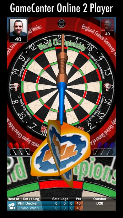 Bulls i 3D Dartsのおすすめ画像1