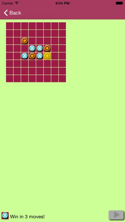 Beyond Tic Tac Toe - Get Five-in-a-row with Friends, solve Gomoku puzzles, or beat the computer Free screenshot-4