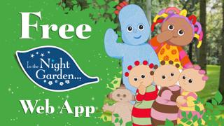 In The Night Garden Web App screenshot one