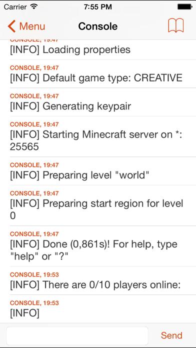 McMyAdmin Mobile for Minecraft Server Adminsのおすすめ画像2