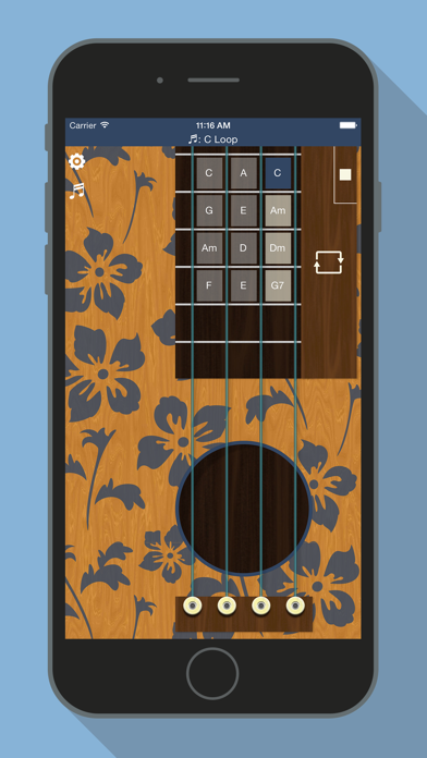 Ukulele - Hawaiian Guitar screenshot two