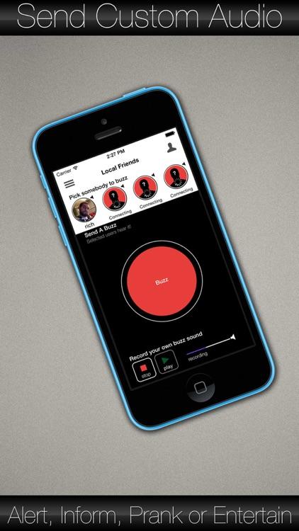 Buzzcom - The bluetooth / wifi recording intercom