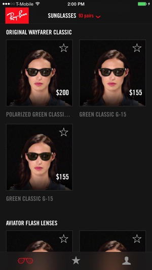 13b101788f Ray-Ban Virtual Try-On on the App Store
