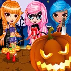 Activities of Halloween Vampire Girl Costume Dress Up Free Games