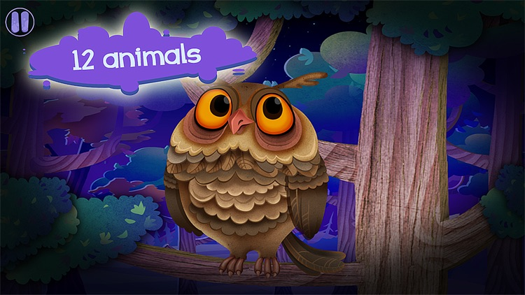 Say Goodnight – book app for bedtime routine. Play with cute animals. Get your children ready for sleep screenshot-1