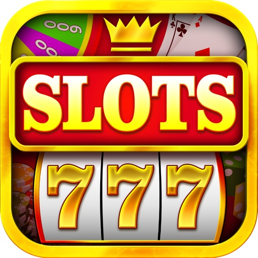 `Ace Win Royal Gold Poker Casino Coin Jackpot Slots - Slot Machine with Blackjack, Solitaire, Roulette, Bonus Prize Wheel