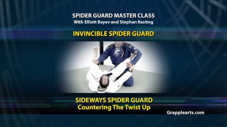 BJJ Spider Guard Volume 5, Invincible Spider Guard screenshot-0