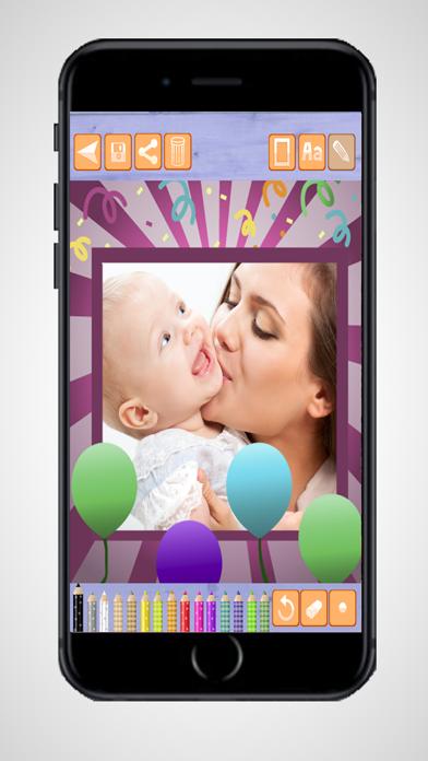 Marcos de fotos de feliz cumpleañosCaptura de pantalla de4