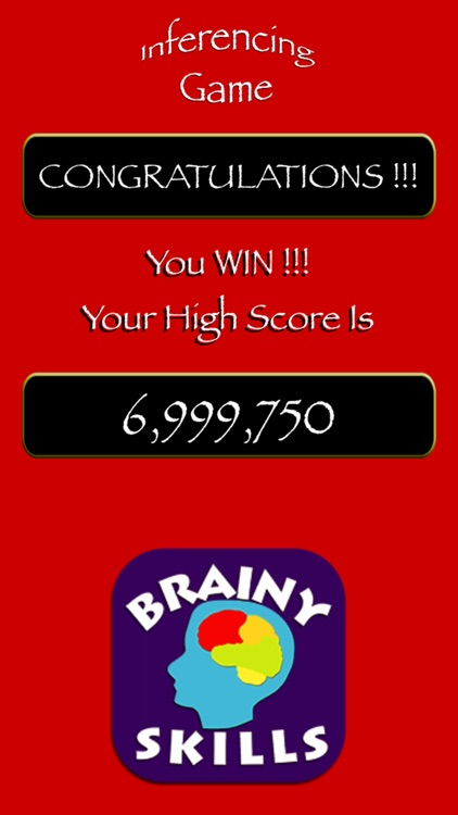 Brainy Skills Inferencing Game screenshot-3