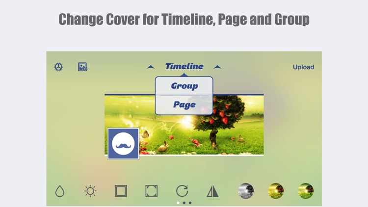 MagiCover: Timeline Cover Maker for Facebook