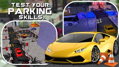 ``Car Parking Games Sports Steer Driving Impossible