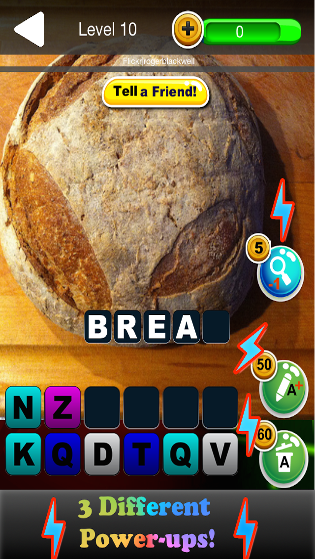 Quiz Pic Food - Trivia Game Where You Guess Zoomed In Photos of Yummy Snacks screenshot two