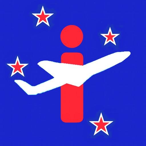 New Zealand Airport - iPlane Flight Information