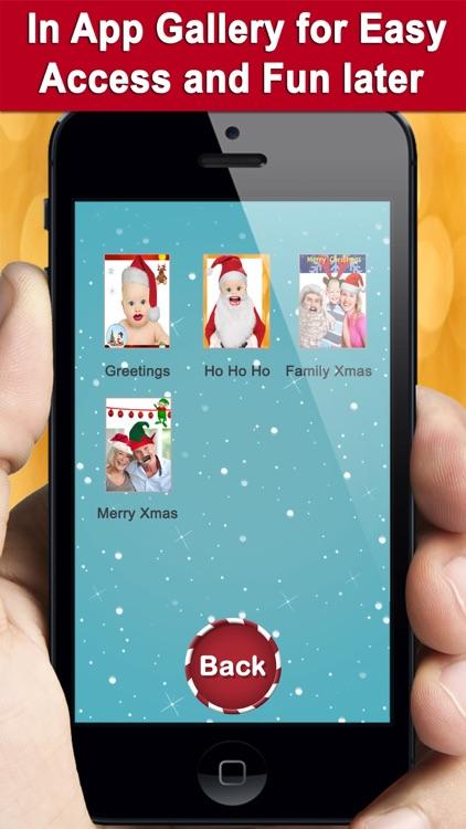 Crazy Christmas Booth screenshot-3