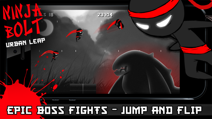 ` Ninja Bolt Urban Leap - Sprint, Slice, Dice, Run & Jump! Screenshot