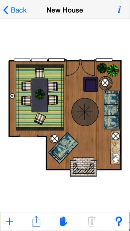 Home Design DIY Interior Room Layout Space Planning & Decorating Tool - Mark On Call for iPhone screenshot-4