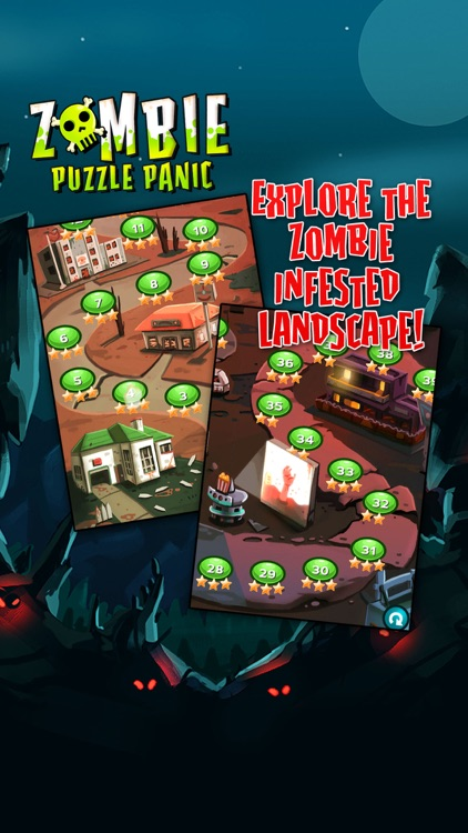 Zombie Puzzle Panic screenshot-3