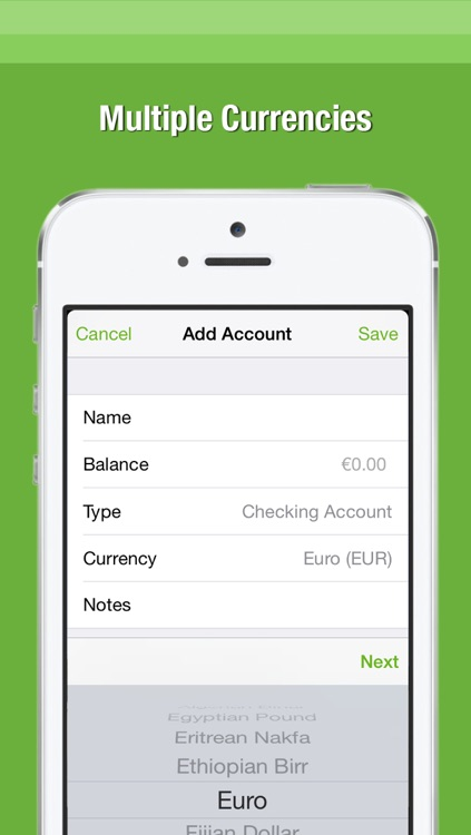 Balance — The Simple Checkbook Register screenshot-3