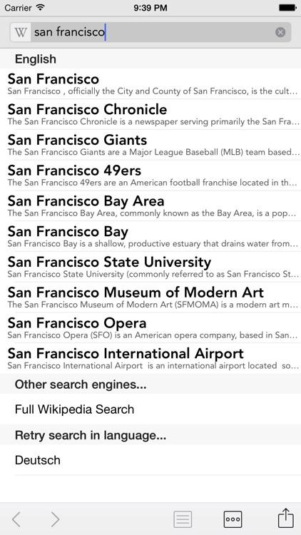 Wikipanion screenshot-4