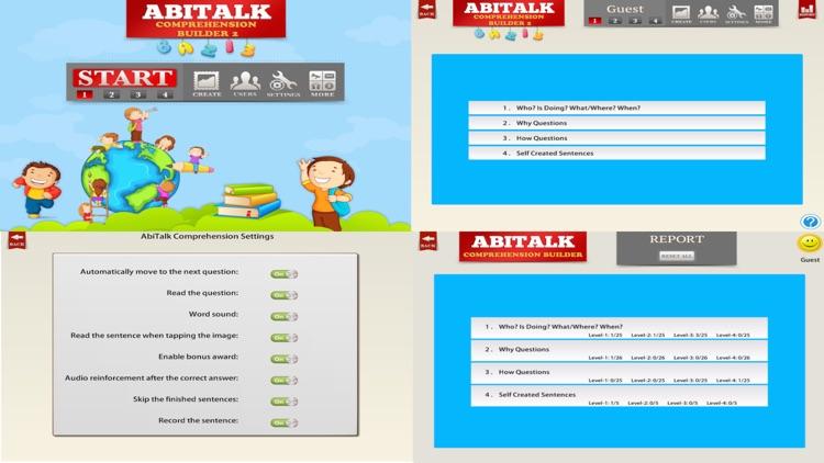 Comprehension Builder 2 Free screenshot-4