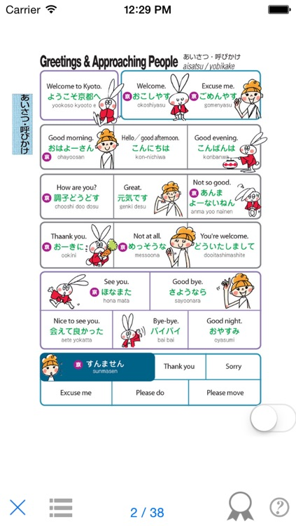 YUBISASHI KYOTO touch & talk screenshot-3