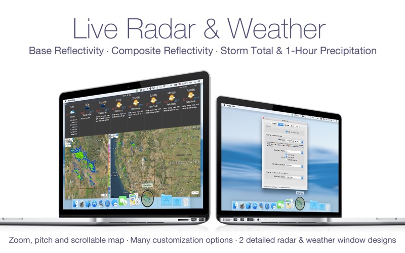 Radar Live pro Screenshot