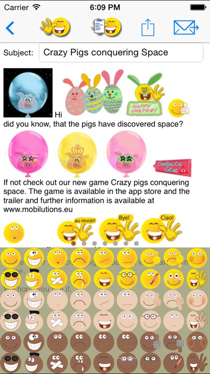 sMaily  the funny smiley icon email app and keyboard for whatsapp screenshot-3