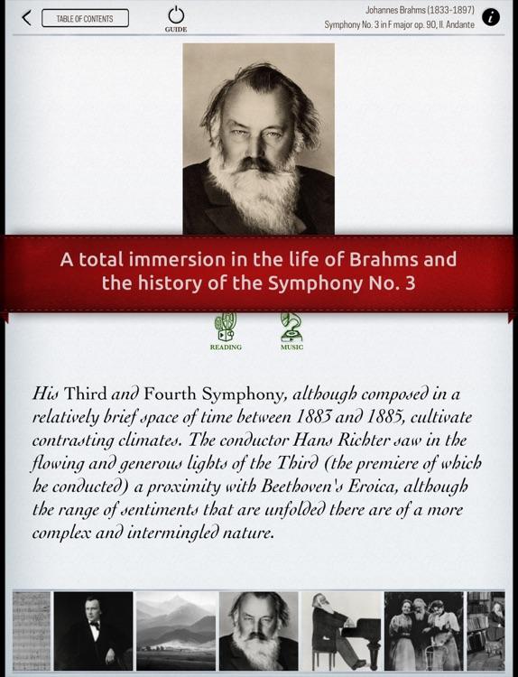 Play Brahms – Symphony No. 3 (interactive piano sheet music) screenshot-3