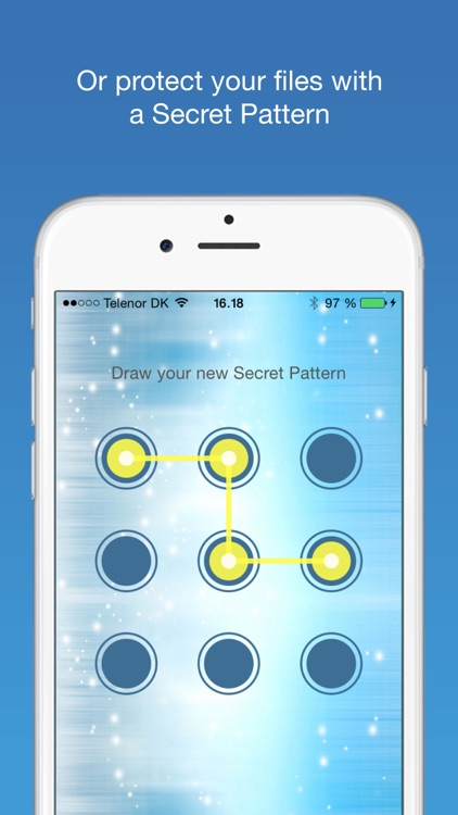 Finger-Print Camera Security with Touch ID & Secret Pattern Unlock Protect-ion screenshot-3
