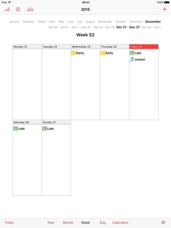 iPlanner HD screenshot-2