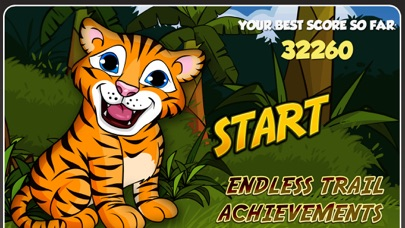 Baby Tiger Tigs - Little Jungle Zoo Pet Cub Tap and Bounce Story Proのおすすめ画像1