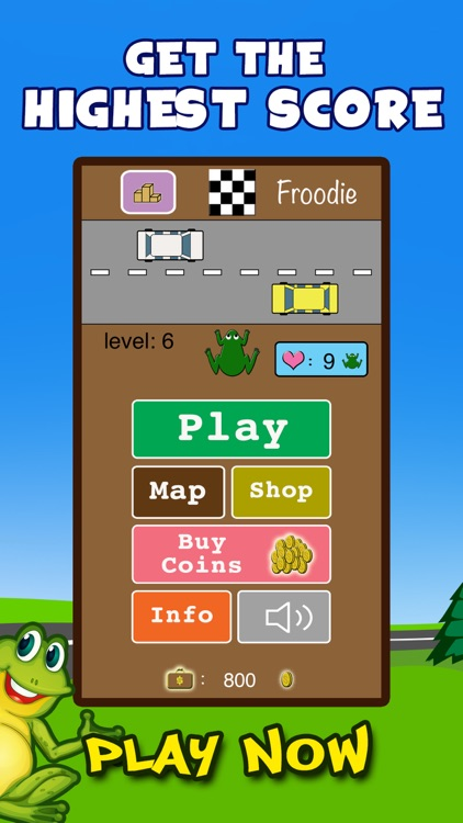 Froodie - Road Crossing Frog Frogger screenshot-4