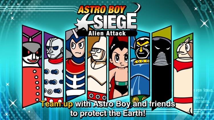 Astro Boy Siege: Alien Attack screenshot-3