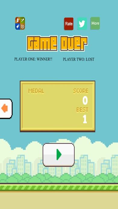 Flappy 2 Players - 彼らは鳥をピクセルのスクリーンショット5
