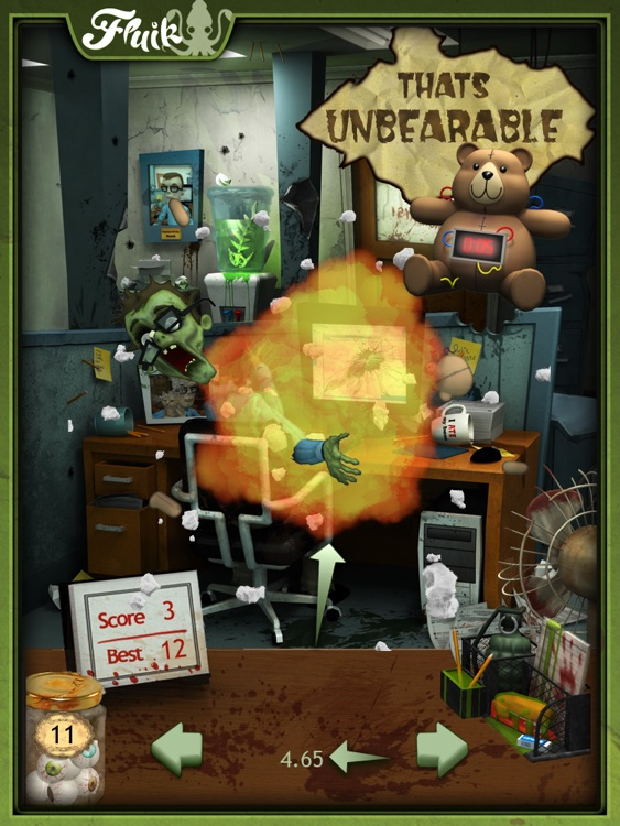 Office Zombie for iPad screenshot-3