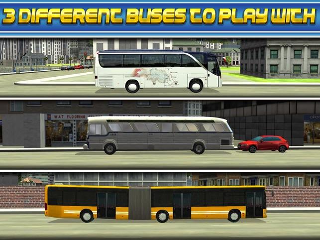 3D Bus Driver Simulator Car Parking Game - Real Monster
