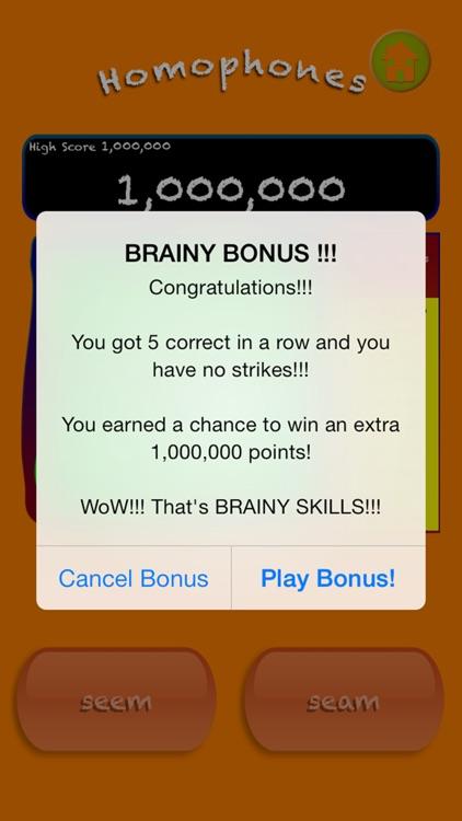 Brainy Skills Homophones screenshot-4