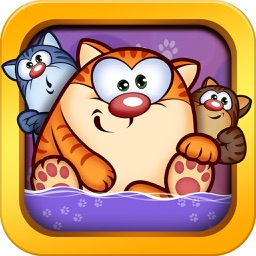 Epic Cat Blast! Mania - Puzzle Jelly games for kids HD Edition for free